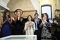 2015-05-07, aniversario Eva Perón, Anamá Ferreira, Nacha, Cristina Banegas, Recalde, Del Boca.jpg