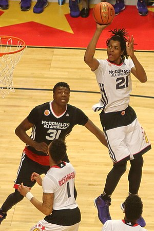 2015–16 Michigan State Spartans men's basketball team - Deyonta Davis at the 2015 McDonald's All-American Boys Game