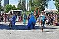 2015 Fremont Solstice parade - hula hoopers 01 (19125954709).jpg