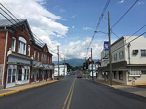 Stanley, Virginia - Main Street in Stanley