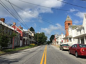 Sharpsburg, Maryland - Main Street in Sharpsburg