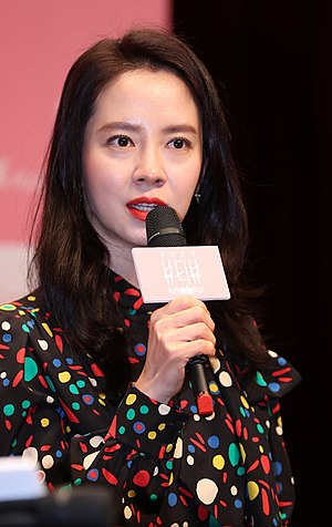 Song Ji-hyo - Song at the Song Ji-hyo's Beauty View press conference in January 2017