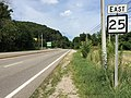 2017-07-24 16 37 32 View east along West Virginia State Route 25 (Seventh Avenue) at West Virginia State Route 62 (Washington Street) in Charleston, Kanawha County, West Virginia.jpg