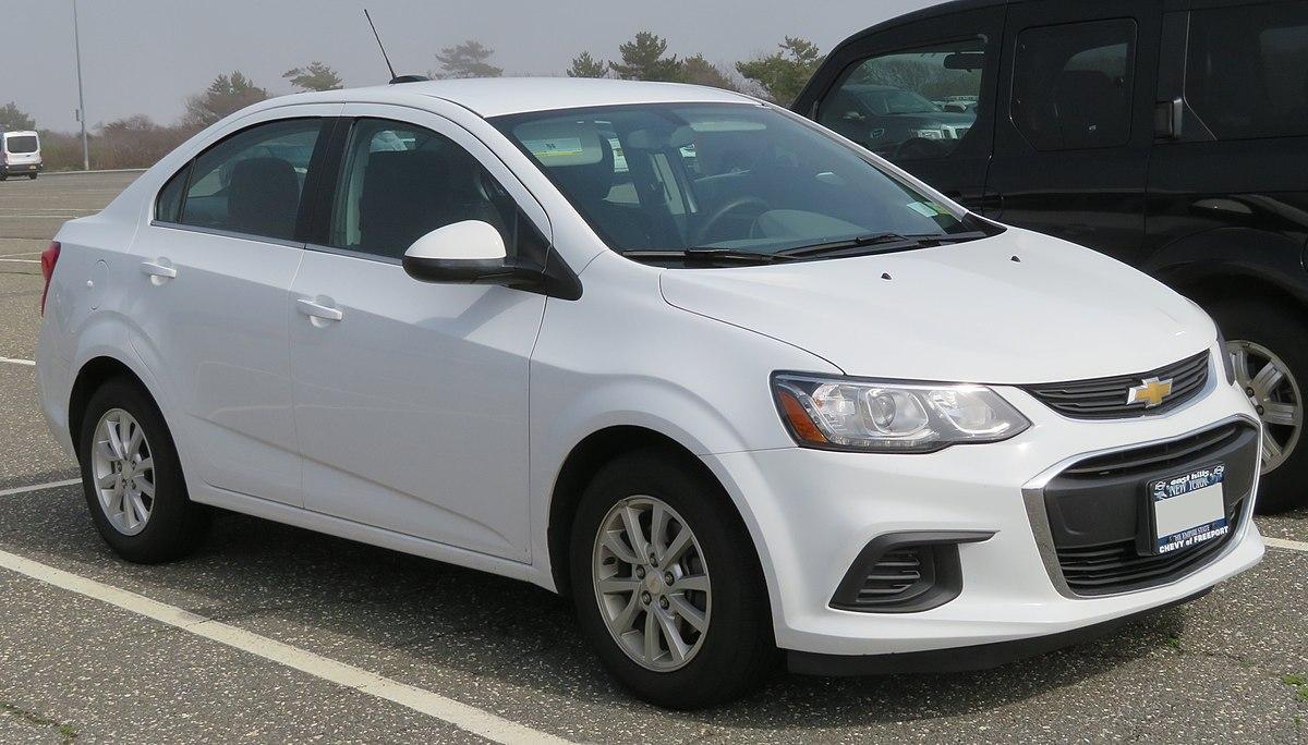 Px Chevrolet Sonic Lt Sedan Front