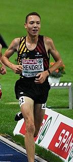 Robin Hendrix Belgian long-distance runner