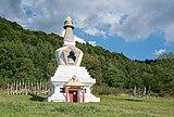 2018 Stupa w Gompie Drophan Ling w Darnkowie 01.jpg