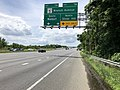 2019-05-27 13 49 32 View south along the inner loop of the Capital Beltway (Interstate 95 and Interstate 495) at Exit 7 (Maryland State Route 5-Branch Avenue, Silver Hill, Waldorf) in Camp Springs, Prince George's County, Maryland.jpg
