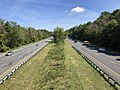 2019-09-03 11 11 04 View north along U.S. Route 29 (Columbia Pike) from the overpass for the Lake to Lake to Lake Trail in Columbia, Howard County, Maryland.jpg
