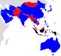 2019 AFC Asian Cup qualifying map.png