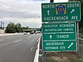 2020-09-03 18 02 45 View east along New Jersey State Route 4 (MacKay Highway) at the exit for Bergen County Route 503 SOUTH (Hackensack Avenue) in Hackensack, Bergen County, New Jersey.jpg
