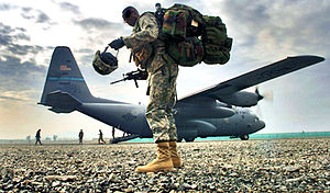 204th Airlift Squadron - The last C-130 Hercules aircraft scheduled to leave the Hawaii Air National Guard sits in the flight line during a farewell ceremony by the 204th Airlift Squadron at Hickam Air Force Base, Hawaii, 8 Feb. 2006.