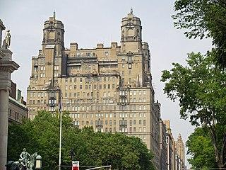 The Beresford Residential skyscraper in Manhattan, New York