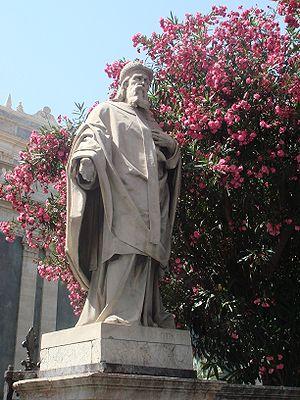 Athanasius of Alexandria - A statue of Athanasius in Catania, Sicily.