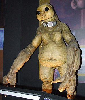 World War Three (Doctor Who) - The Slitheen, as they appear at the Doctor Who Experience.