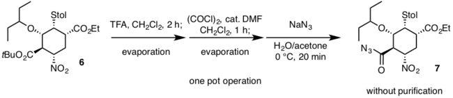 2nd one-pot operation Hayashi 2009 Synthesis.png
