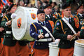 3 Drummers in Pipe Band (4868693034).jpg