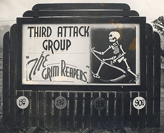 3d Operations Group - 3d Attack Group sign