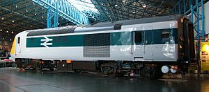 British Rail Class 41 (HST) - 41001 rear/side view