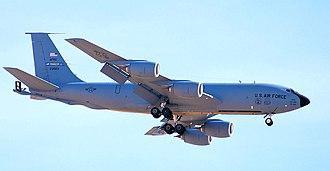 185th Air Refueling Squadron - 465th Air Refueling Squadron Boeing KC-135R-BN Stratotanker 62-3503