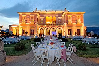 Rothschild family - Beatrice de Rothschild's villa on the Côte d'Azur, France