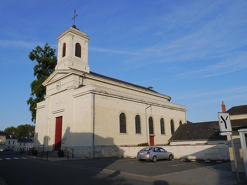 L'église Saint-Maurille.