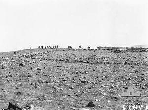 Charge at Kaukab - 4th Light Horse Regiment at Kaukab