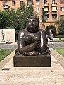 5. Tamanian St - Woman smoking by Fernando Botero.jpg