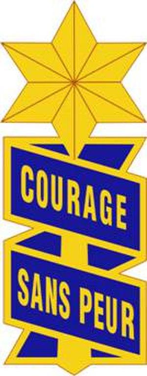 53rd Infantry Regiment (United States) - Image: 53 Inf Regt DUI