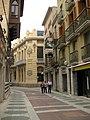 555 Conjunt del carrer Peralada, al fons el Casino Menestral.jpg