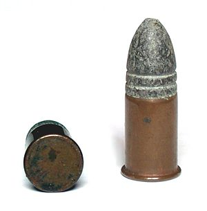 .56-56 Spencer - .56-56 Spencer cartridge, bullet diameter .546 inches