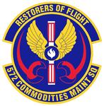 572 Commodities Maintenance Sq emblem.png