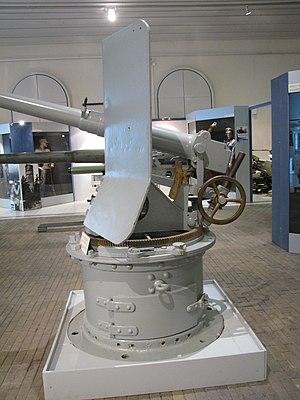 QF 6 pounder Nordenfelt - Image: 57 mm 48 cal Nordenfelt Maneesi 4