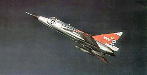57th Fighter Interceptor Squadron F-102A 56-1418 1969.jpg