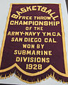 58-3-A Pennant, Basketball Championship (9624041460).jpg
