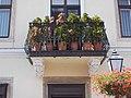 5 Fő Square, corbel supported balcony, 2020 Óbuda.jpg