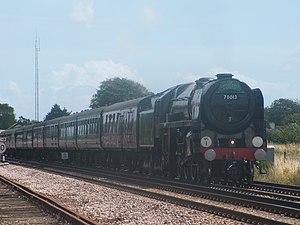 BR Standard Class 7 - Image: 70013 Barnham 30 07 09