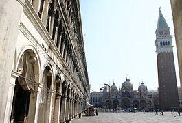 8239 - Venezia, Procuratie Vecchie e San Marco - Foto Giovanni Dall'Orto, 12-Aug-2006.jpg