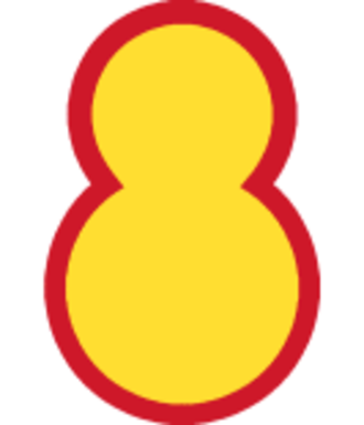 8th Infantry Division (South Korea) - 8th Division insignia