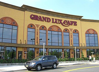 The Cheesecake Factory - A Grand Lux Cafe Restaurant at Westfield Garden State Plaza, Paramus, New Jersey.