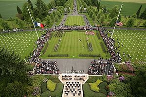 Aisne-Marne American Cemetery and Memorial - Image: 93rd anniversary Battle of Belleau Wood