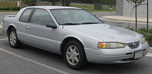 Mercury Cougar - 1997 Mercury Cougar XR-7