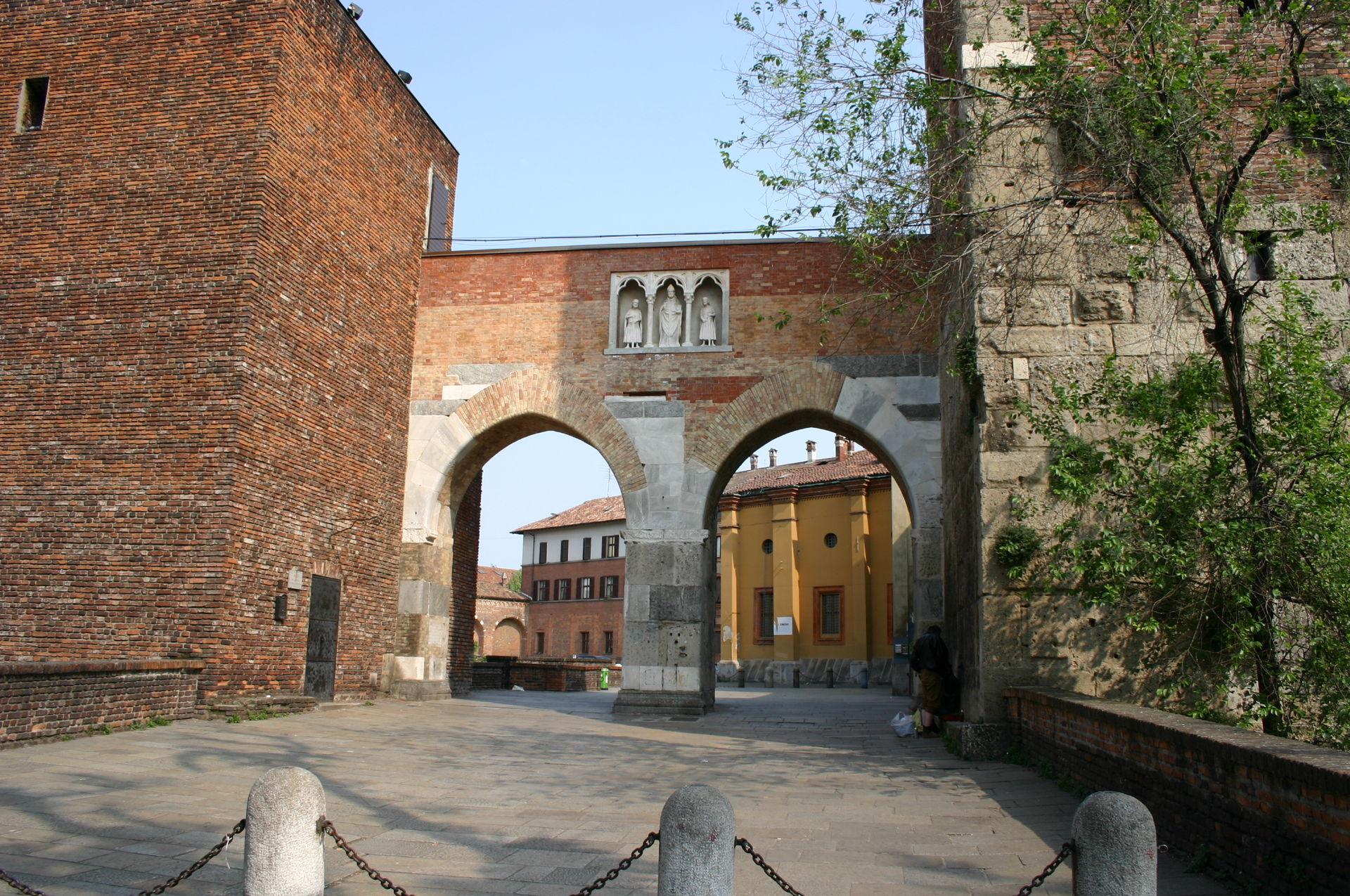 Pusterla di sant 39 ambrogio wikipedia for Porte milano