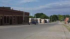 A376, Schaller, Iowa, USA, 2nd St looking east, 2016.jpg