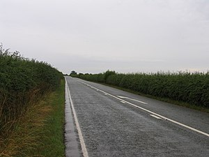 A6121 road - Between Morcott and South Luffenham