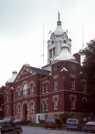 National Register of Historic Places listings in Missouri - Image: ANDREW COUNTY COURTHOUSE