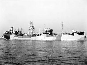 T3 tanker - USS Niobrara AO-72, a T3-S-A1 tanker
