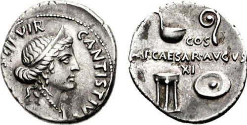 AUGUSTUS RIC I 368-711372