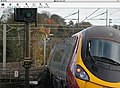 A Euston-bound Pendolino leans through the curves at Berkhamsted, Nov 2010. - panoramio.jpg