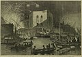 A Night Scene on the Nile, near the Mouth of the Cairo Canal, during the Festival of Gebr-El-Haleeg, or breaking the Canal - ILN 1862.jpg