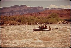 A River Trip Into Canyonlands National Park Conducted by Tag - Along - Tours of Moab, 05-1972 (3856289201).jpg